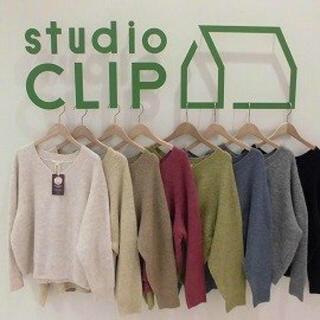 STUDIO CLIP - スタディオクリップ マカロンニット