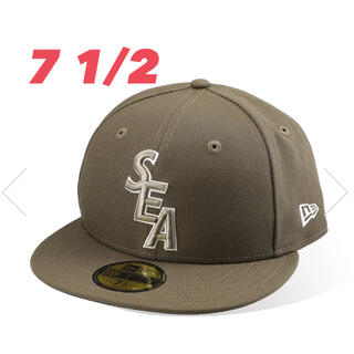 NEW ERA - 【7 1/2】NEWERA×WIND AND SEA 59 FIFTY CAP