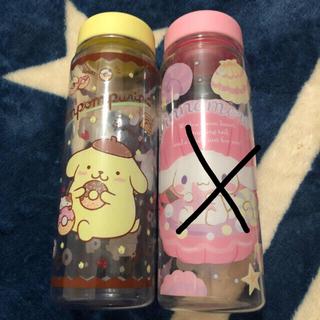 シナモロール(シナモロール)のゆゆ様専用☆新品★ポムポムプリン クリアーボトル (タンブラー)