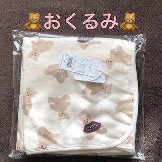 gelato pique - gelato pique・ジェラートピケ◆テディベアブランケット・クマ・おくるみ