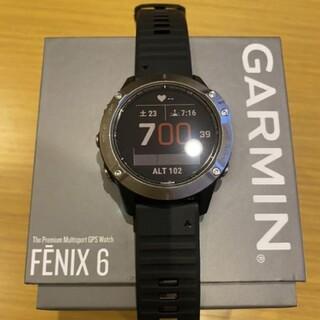 GARMIN - Garmin fenix 6  美品