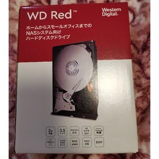 ウエスタンエディション(Western Edition)の未開封  Western Digital HDD 4TB WD Red NAS (PCパーツ)