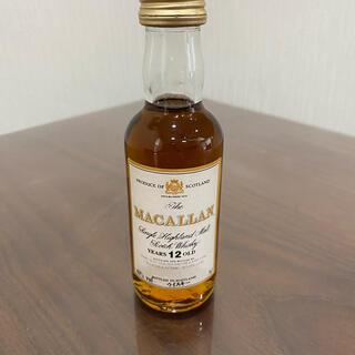 マッカラン12年ミニチュアボトル