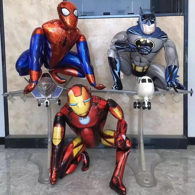 MARVEL(マーベル)のスパイダーマン☆アイアンマン☆バルーン☆ヒーロー☆誕生日☆パーティー キッズ/ベビー/マタニティのメモリアル/セレモニー用品(その他)の商品写真