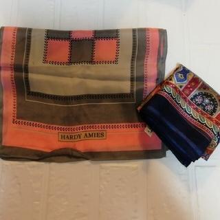 ハーディエイミス(HARDY AMIES)のシルク 100% スカーフ HARDY AMIES(バンダナ/スカーフ)