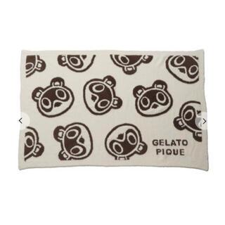 gelato pique - 【新品】ジェラートピケ あつまれどうぶつの森 つぶまめジャガードブランケットB