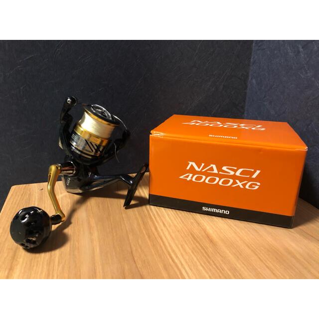 SHIMANO(シマノ)のシマノ ナスキー 4000XG スポーツ/アウトドアのフィッシング(リール)の商品写真