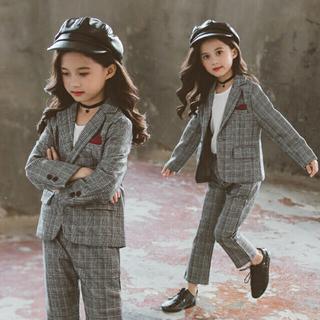 韓国子供服 スーツ 新品 150(ドレス/フォーマル)