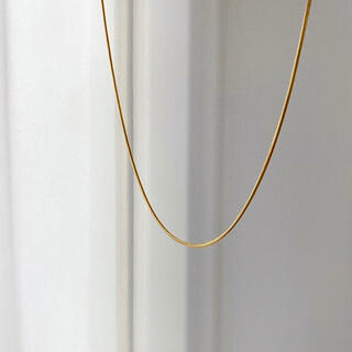 BEAUTY&YOUTH UNITED ARROWS - Silver925,18kgp_Ines thin necklace