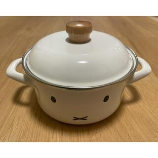 フジホーロー(富士ホーロー)の富士ホーロー ミッフィ ホーロー鍋 15cm(鍋/フライパン)