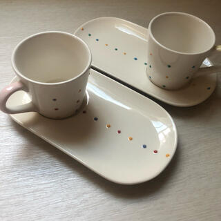 AfternoonTea - 2/9まで出品 afternoon tea 皿・カップ 2セット
