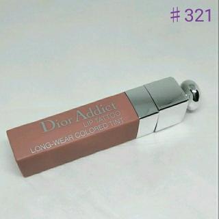 クリスチャンディオール(Christian Dior)のディオールアディクトリップティント 321(口紅)