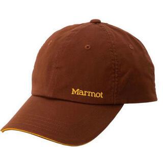 マーモット(MARMOT)のmarmot baseball cap キャップ ブラウン 未使用新品(キャップ)