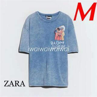 ZARA - 新品 ZARA M バック・トゥ・ザ・フューチャー 映画 Tシャツ