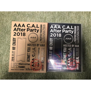 AAA - AAA C.A.L After Party 2018 DVD