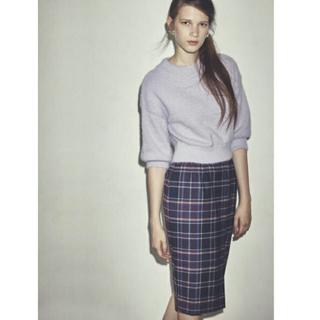 ノエラ(Noela)のNoela チェックタイトスカート(ひざ丈スカート)