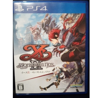 PlayStation4 - イース9  イースIX -Monstrum NOX- PS4