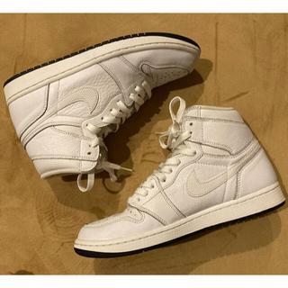NIKE - Air Jordan1 ホワイト