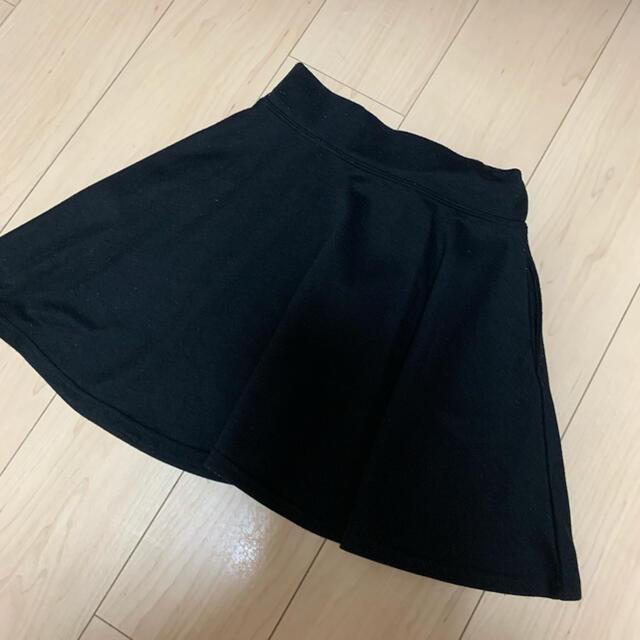 repipi armario(レピピアルマリオ)のレピピアルマリオ Sサイズ150〜160cm フレアスカート キッズ/ベビー/マタニティのキッズ服女の子用(90cm~)(スカート)の商品写真