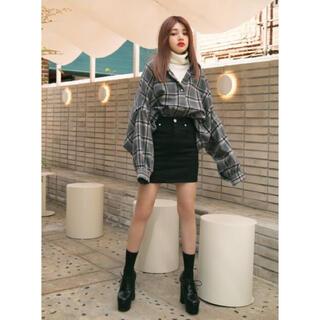 GRL - GRL ストレッチタイトスカート Lサイズ