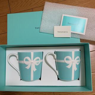 Tiffany & Co. - ティファニー リボンペアマグカップ