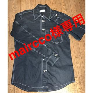アンブッシュ(AMBUSH)のAMBUSH  バックボタンデニムシャツジャケット(Gジャン/デニムジャケット)