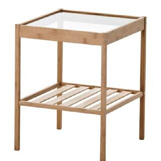 イケア(IKEA)の新品未開封IKEA(イケア  )ベッドサイドテーブル NESNA ネスナ(コーヒーテーブル/サイドテーブル)