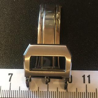 インターナショナルウォッチカンパニー(IWC)の腕時計 社外 高級ステンDバックル 18mm用(腕時計(アナログ))