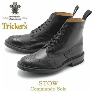 Trickers - TRICKER'S トリッカーズ ブーツ ストウ  STOW 黒