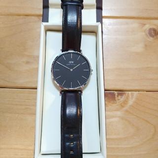 ダニエルウェリントン(Daniel Wellington)の専用 ダニエルウェリントン ブラック メンズ 40mm(腕時計(アナログ))