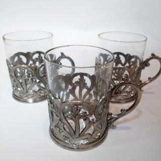新品 コップ カップ 一口ビールカップ 3個(グラス/カップ)