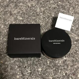 ベアミネラル(bareMinerals)の【新品】ベアミネラル オリジナルファンデーション 03 フェアリーライト(ファンデーション)
