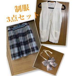 クミキョク(kumikyoku(組曲))の組曲 制服スカート なんちゃって制服 リボン セット(ミニスカート)
