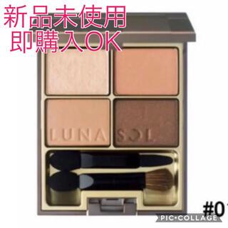 LUNASOL - 【新品未使用】ルナソル スキンモデリングアイズ #01