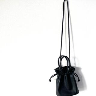 ローリーズファーム(LOWRYS FARM)の#13 エコレザー¥3,850 2WAYバッグ ブラック 新品 期間限定販売(ショルダーバッグ)