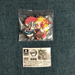 集英社 - 鬼滅の刃 キャラばんちょうこう ラバーマスコット 漆ノ型 煉獄杏寿郎&猗窩座