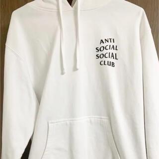 アンチ(ANTI)のアンチソーシャルソーシャルクラブ パーカー 白(パーカー)