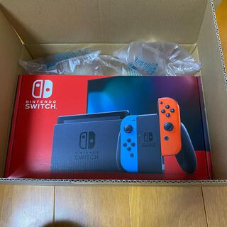 Nintendo Switch - 新品未開封!ニンテンドースイッチ本体 ネオンブルーネオンレッド