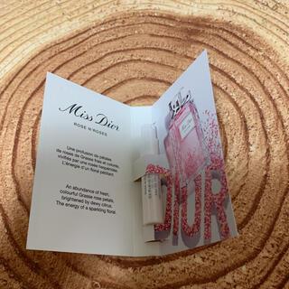 クリスチャンディオール(Christian Dior)のミスディオール ローズ&ローズ 1ml(香水(女性用))