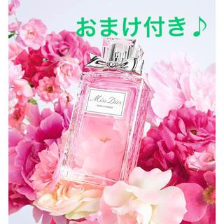 Dior - ディオール ミスディオール ローズ&ローズ香水、ムエットカード×3おまけ付き♪