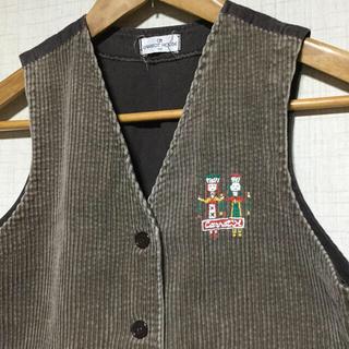 グリモワール(Grimoire)の*値下げ  日本製 レトロ ベスト 150cm(ジャケット/上着)