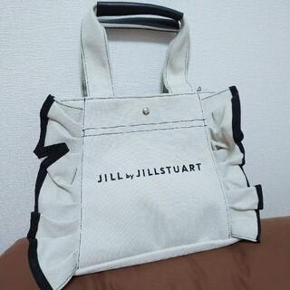 JILL by JILLSTUART - 新品未使用 トートバッグ フリルトートバッグ バッグ 大人気 ジルスチュアート