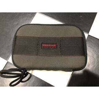 BRIEFING - BRIEFING ブリーフィング SHORT WALLET スティール 美品