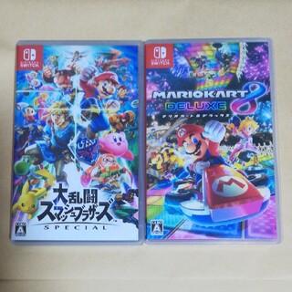 Nintendo Switch - 【セット】大乱闘スマッシュブラザーズSpecial マリオカート8DX スイッチ