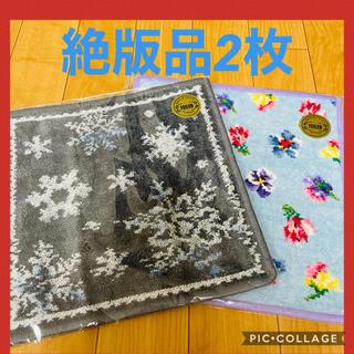 FEILER - 大セール【絶版品】フェイラーハンカチ スノークリスタル&ラシュシュ