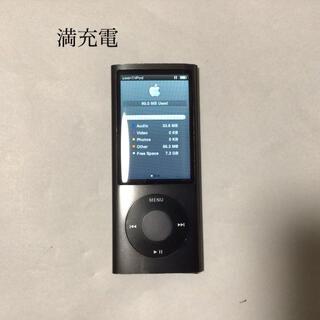アップル(Apple)のiPod nano 5世代 8GB 稼働品、black-1 組み替え品(ポータブルプレーヤー)