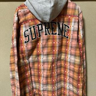 Supreme - シュプリーム フードシャツ