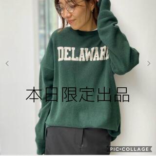 L'Appartement DEUXIEME CLASSE - GOOD GRIEFCashmere Logo Knit Pullover