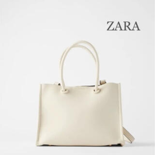 ZARA - 【新品・未使用】ZARA ミニ トートバッグ