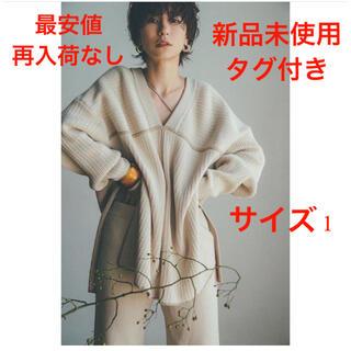 STUDIOUS - 新品 CLANE 新作人気即完売 DOUBLE FACE LINE KNIT